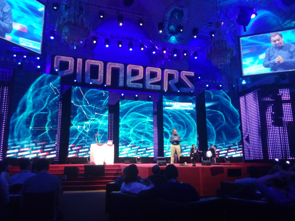 Main stage at Pioneers 2017 in Vienna
