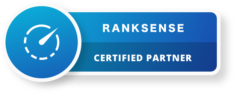 RankSense Partner Badge